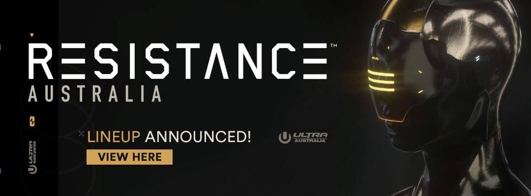 RESISTANCE Australia 2019 Lineup
